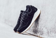 New Balance 530 Lux Black Suede