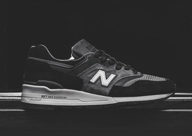 new concept dd415 492a2 New Balance 997 Black Grey Made in USA | SneakerFiles