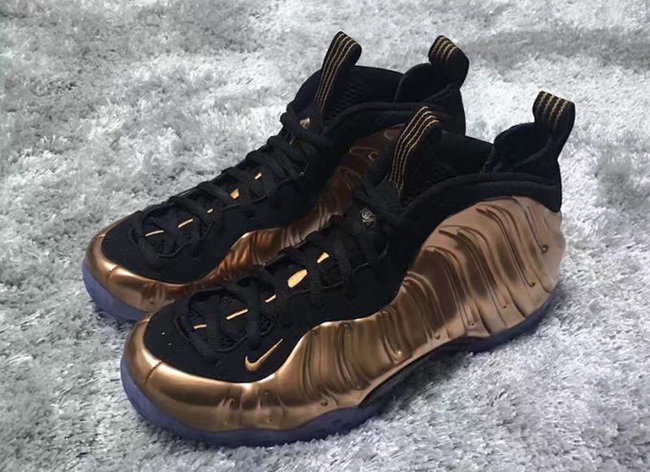 Nike Air Foamposite One Copper 2017 Release Date