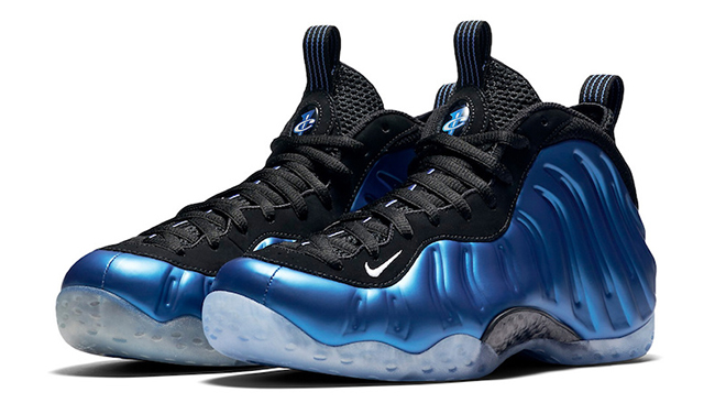 Nike Air Foamposite One XX Royal 20th Anniversary 2017 Release Date