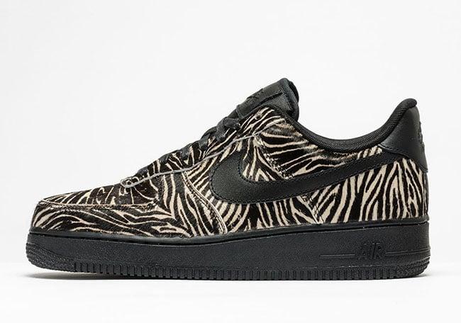 nike air force zebra print
