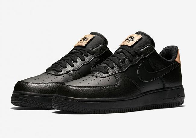 Nike Air Force 1 Low Black Vachetta Tan 718152 016