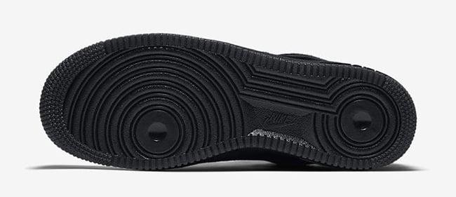 Nike Air Force 1 Low Pony Hair Black