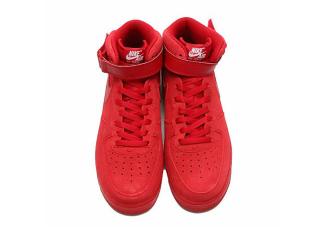 Nike Air Force 1 Mid Gym Red