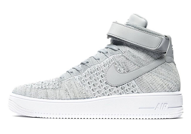 Nike Air Force 1 Ultra Flyknit Heather Grey
