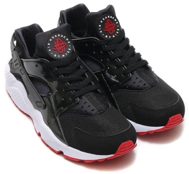 Nike Air Huarache Black Red White