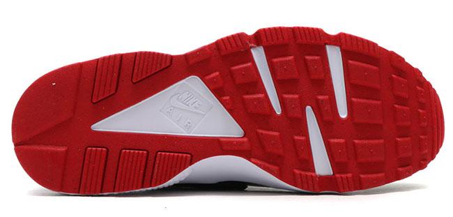 a7985db1f2f47 Nike Air Huarache Bred Gym Red Black 318429-032   SneakerFiles