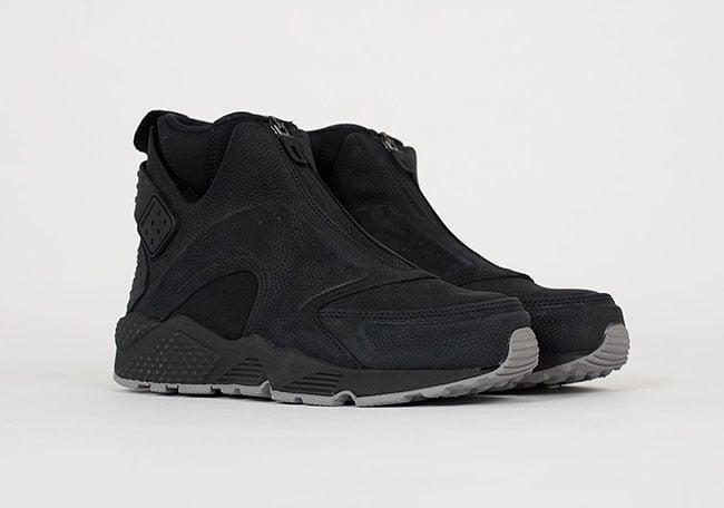 dc57309ca057 Nike Air Huarache Run Mid Black Dust 807314-002