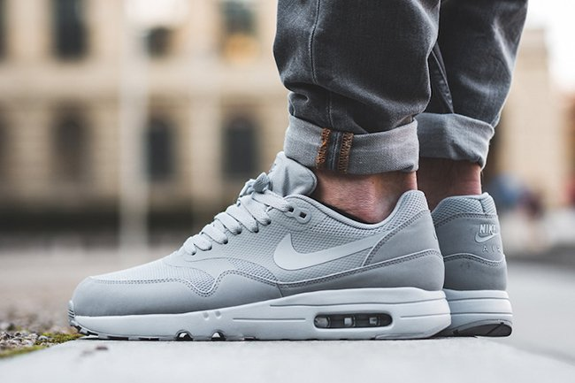 sports shoes b2141 69f91 ... neutral greydark gray Nike Air Max 1 Ultra 2.0 Essential Wolf Grey