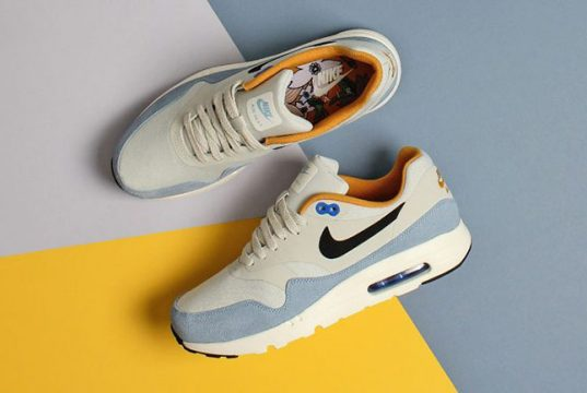 Nike Air Max 1 Ultra Essential Light Bone Bluecap