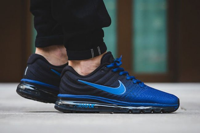 8ca863cfad Nike Air Max 2017 Deep Royal Blue 849559-401 | SneakerFiles