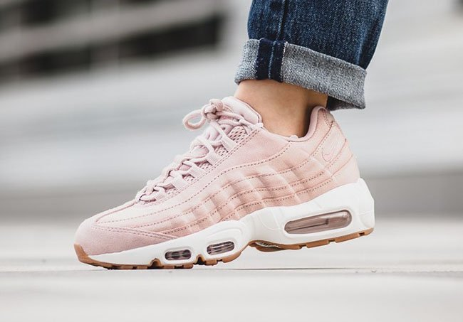 timeless design e4acd 90561 Nike Air Max 95 Pink Oxford