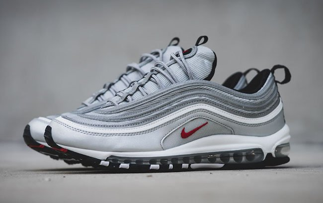 air max silver 97 rosse