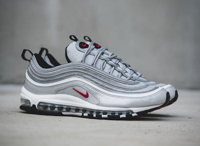 97 air max silver