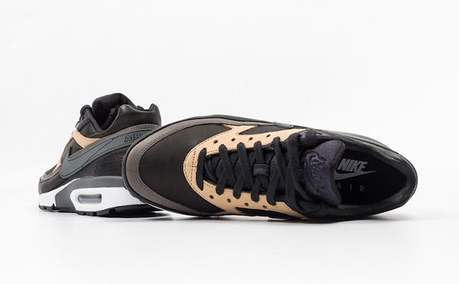 Nike Air Max BW Premium Black Vachetta Tan
