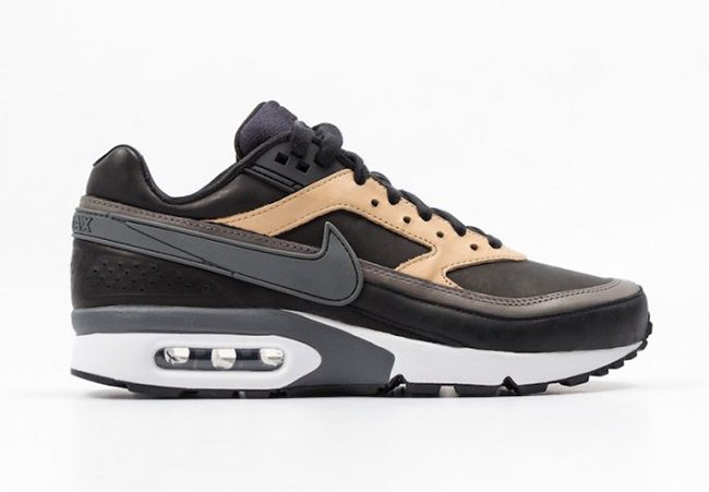Nike Air Max BW Premium Black Vachetta Tan 819523 001
