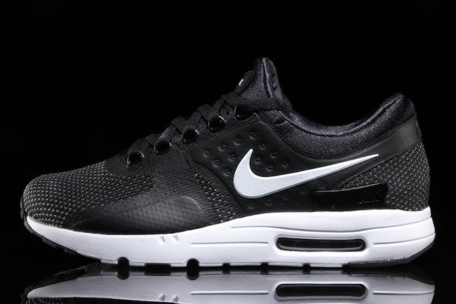 1c3f8759c9934 Nike Air Max Zero Essential Black White 876070-004 | SneakerFiles