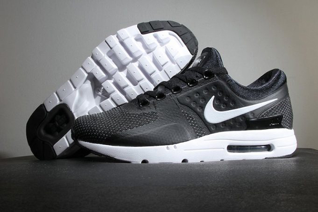 Nike Air Max Zero White Black Dark Grey 025674835