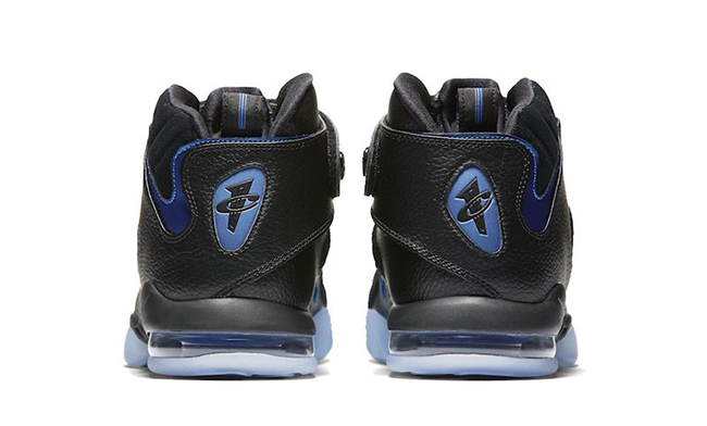 Nike Air Penny 4 Black Blue Retro 2017 Release