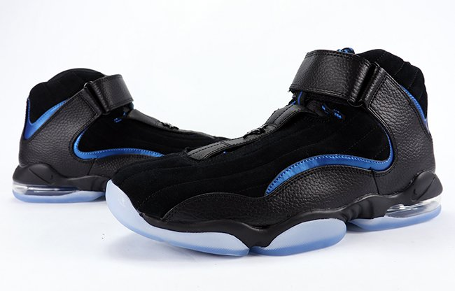 Video: Nike Air Penny 4 'Black Royal'