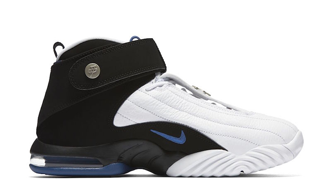 Nike Air Penny 4 Orlando Magic White Blue 2017