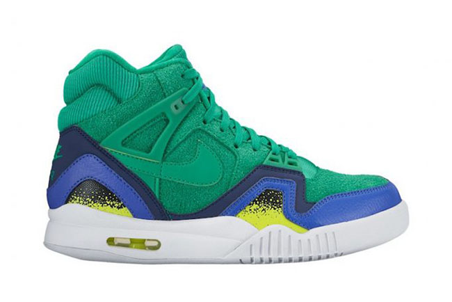 Nike Air Tech Challenge 2 Gold Dart Stadium Green  c8fadfa0ee91