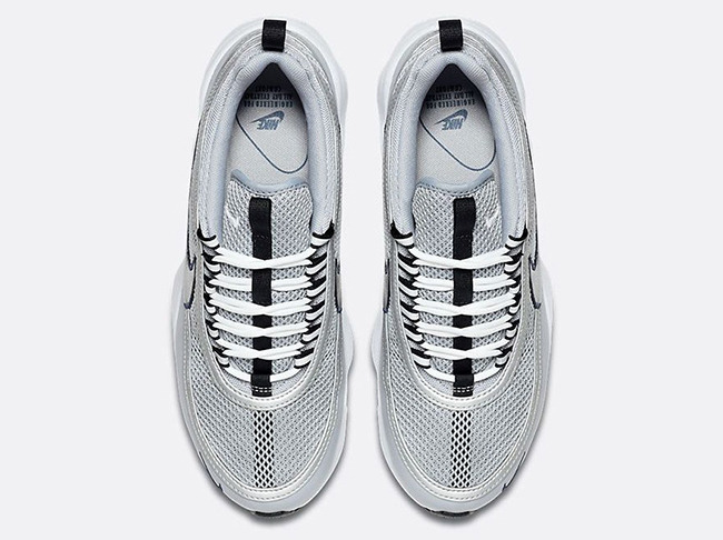 newest collection a5938 1551a Nike Air Zoom Spiridon Wolf Grey Silver