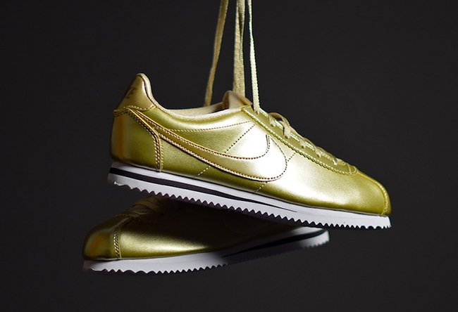 Nike Cortez Premium Gold