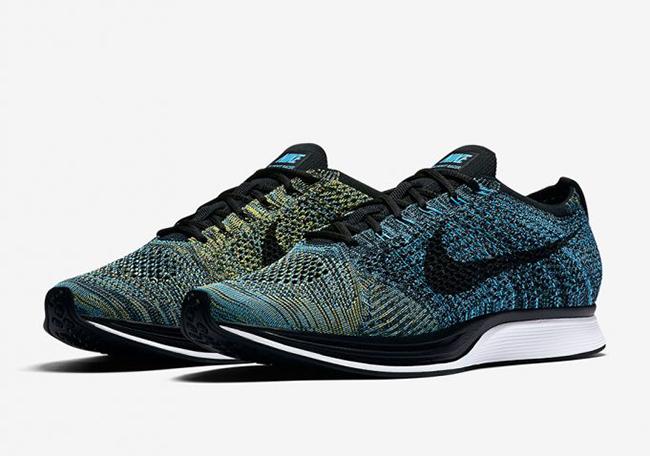 Nike Flyknit Racer Blue Glow 2017