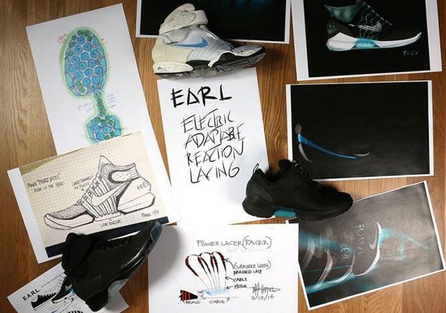 Nike HyperAdapt 1.0 Prototypes