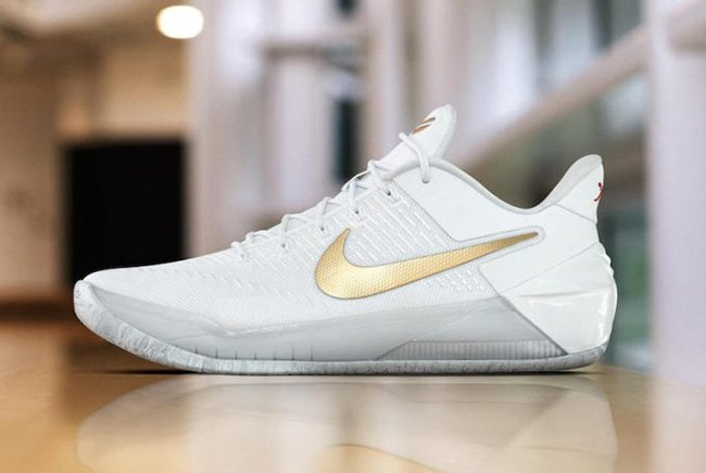 Nike Kobe AD White Gold Christmas Day PE