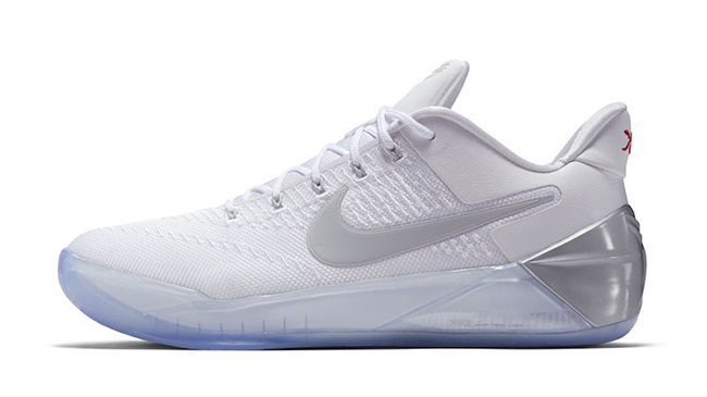 outlet store 2becf 8ef55 Nike Kobe AD White Silver Ice
