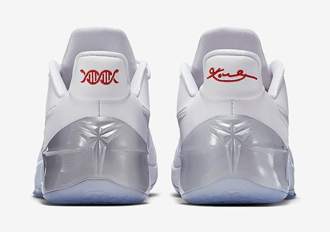 Nike Kobe AD White Silver Ice
