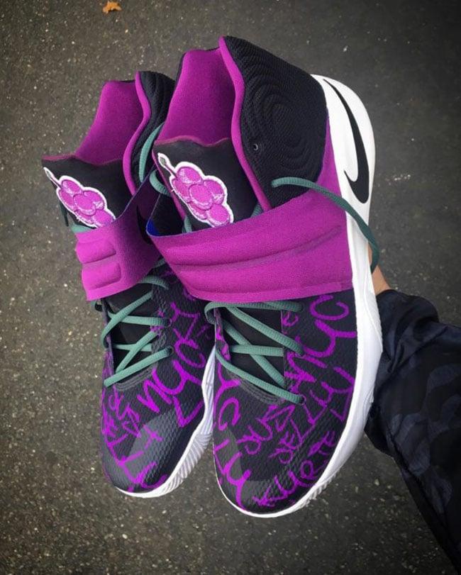 Nike Kyrie 2 Grape Jelly Custom