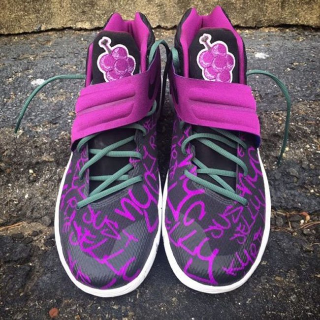 Nike Kyrie 2 Grape Jelly Custom