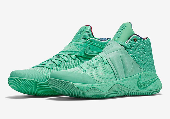 Nike Kyrie 2 What The Green Glow