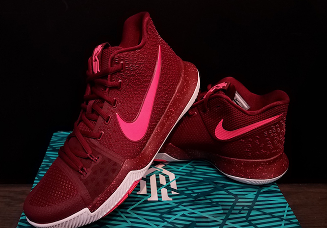 Nike Kyrie 3 Hot Punch Team Red Release