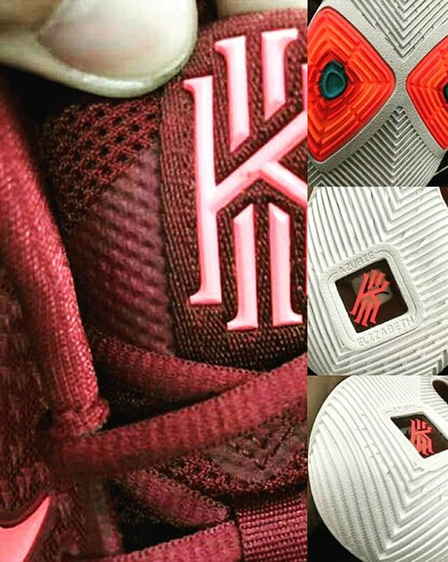 Nike Kyrie 3 Team Red Total Crimson Pink Blast