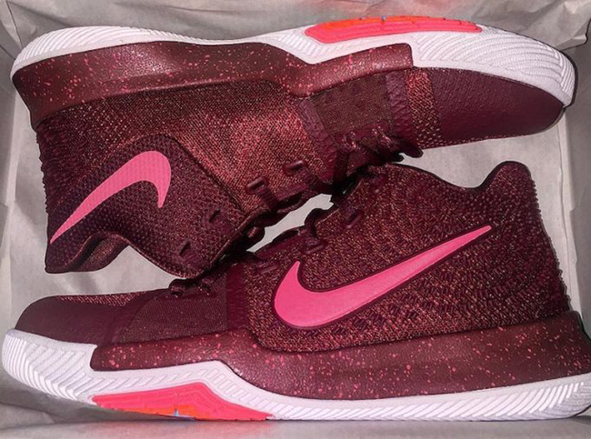 Nike Kyrie 3 Team Red Total Crimson Pink Blast
