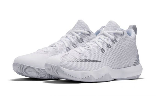 Nike LeBron Ambassador 9 White Metallic