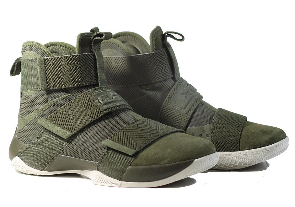 Nike LeBron Soldier 10 Lux Cargo Khaki