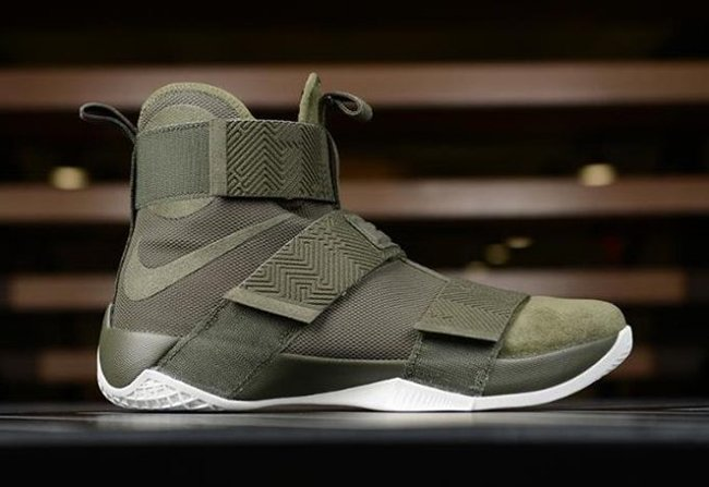 f6fe04d8d4c731 Nike LeBron Soldier 10 Lux Olive Release Date