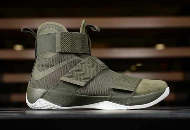 Nike LeBron Soldier 10 Lux Olive Green