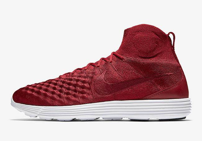 Nike Lunar Magista II Flyknit Team Red