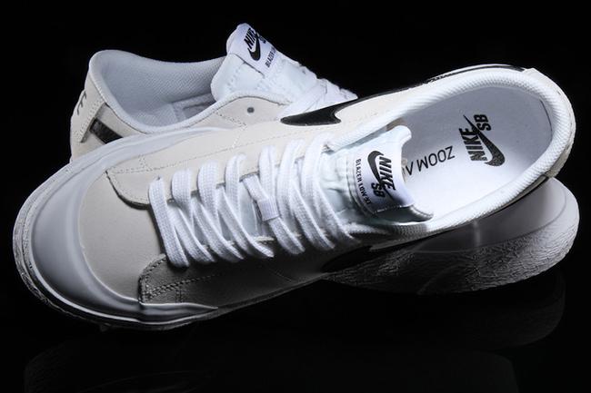 Nike Sb Blazer Low Xt Black White Sneakerfiles