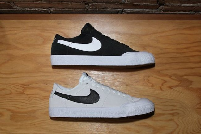 a la deriva flexible Nevada  Nike SB Blazer Low XT Black White | SneakerFiles