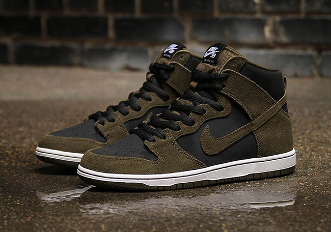 Nike SB Dunk High Dark Loden