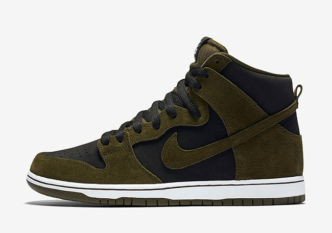 Nike SB Dunk High Medium Olive