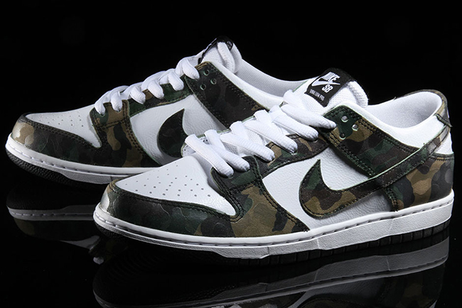 Nike SB Dunk Low Camo Legion Green 854866-331  a3b4daeb0cda9