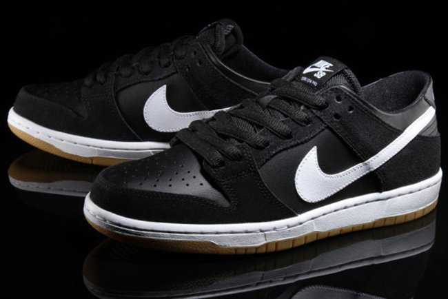 Nike Sb Dunk Lav Pro Svart / Hvit / Tyggis hyD7j
